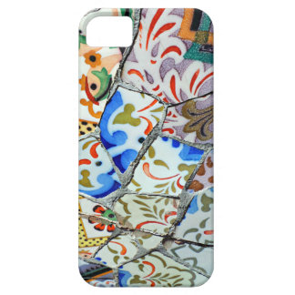 Gaudi's Park Guell Mosaic Tiles iPhone 5 Case