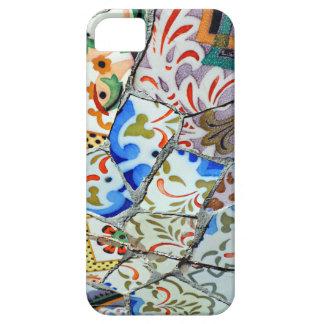Gaudi's Park Guell Mosaic Tiles iPhone 5 Case