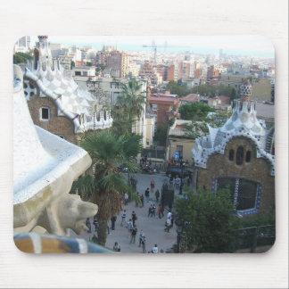 Gaudi's Park Mouse Pad