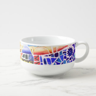 Gaudi's Park. Soup Mug