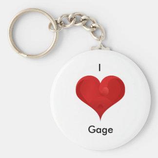 Gauge Keychain