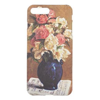 Gauguin - Bouquet of Peonies on a Musical Score iPhone 8 Plus/7 Plus Case