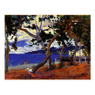 Gauguin - Coastal Landscape from Martinique Postcard
