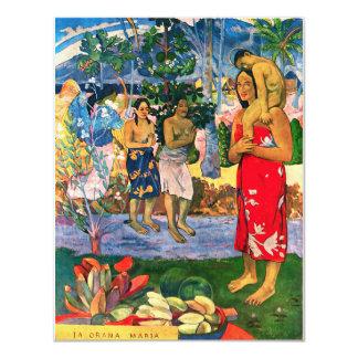 Gauguin Ia Orana Maria Invitations
