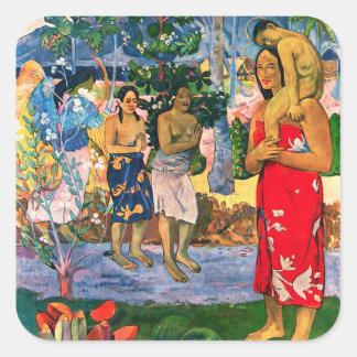 Gauguin Ia Orana Maria Stickers
