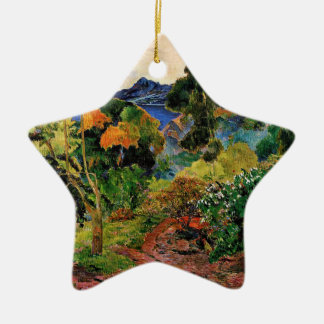 Gauguin - Martinique Landscape Christmas Ornament
