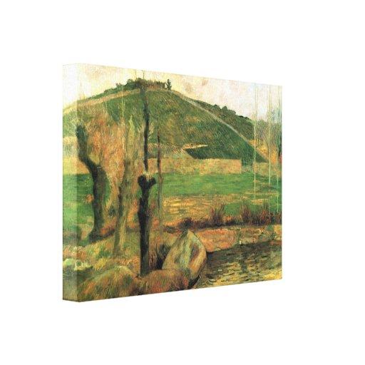 Gauguin - Sainte Marguerite near Pont-Avon Gallery Wrapped Canvas