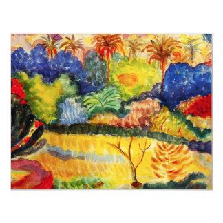 Gauguin Tahitian Landscape Invitations