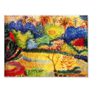 Gauguin Tahitian Landscape Photo Print