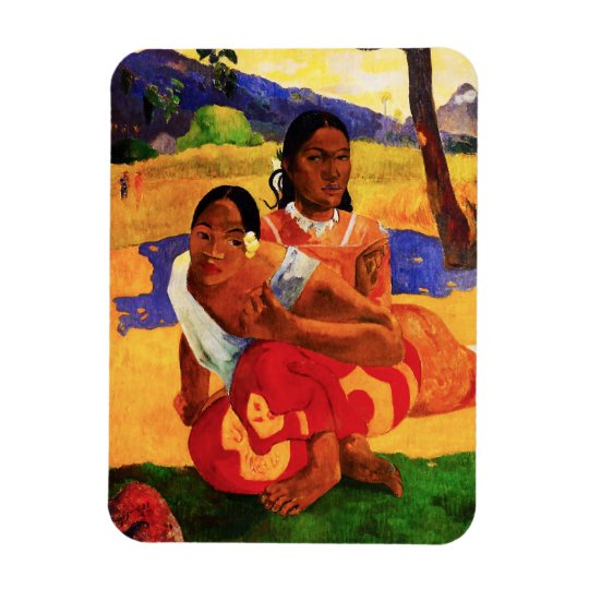 Gauguin When Are You Getting Married Magnet