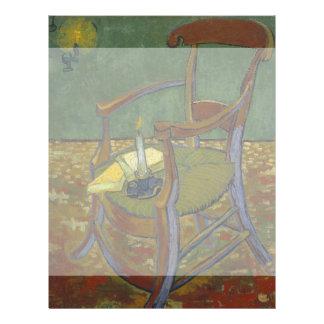 Gauguins Chair by Vincent Van Gogh Custom Flyer