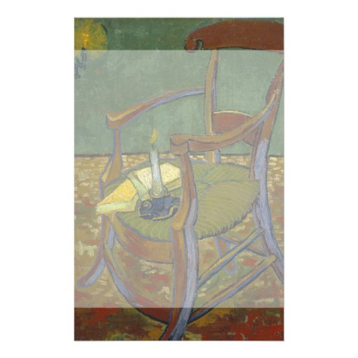 Gauguins Chair by Vincent Van Gogh Flyers