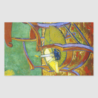 Gauguin's Chair vincent van gogh painting Sticker