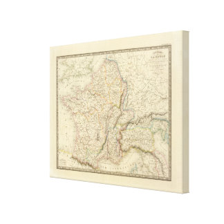 Gaul, Northern Italy, Germania Stretched Canvas Prints