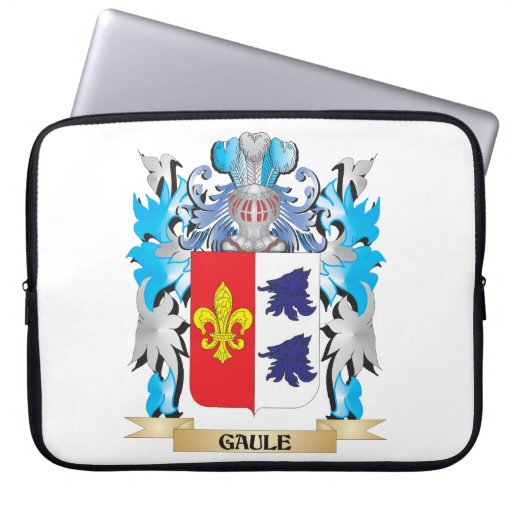Gaule Coat of Arms - Family Crest Computer Sleeve