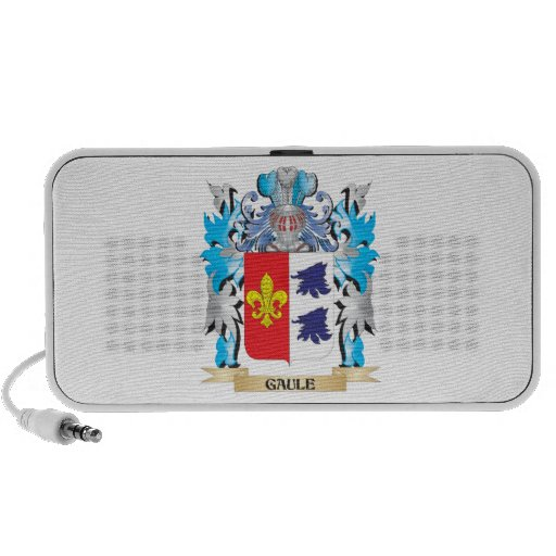 Gaule Coat of Arms - Family Crest Portable Speaker