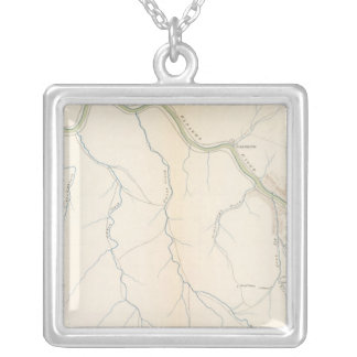 Gauley Bridge Silver Plated Necklace