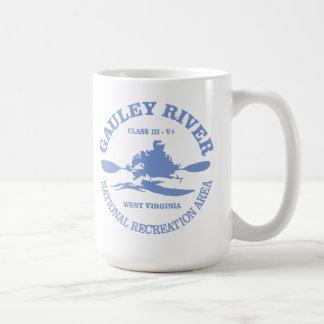 Gauley River Basic White Mug