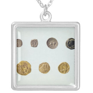 Gaulish coins, c.750-0 BC Silver Plated Necklace