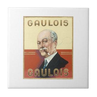 Gaulois Cigar Label Tile