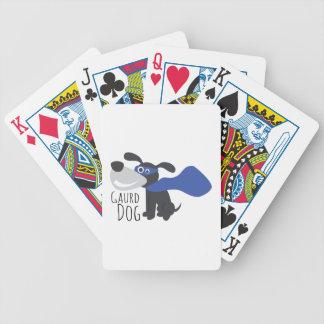 Gaurd Dog Bicycle Poker Deck