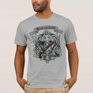 Gaurd Yer Booty Vintage Pirate Men's T-Shirt
