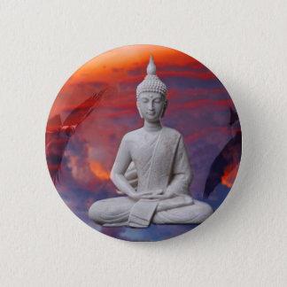 Gautama Siddhartha Buddha 6 Cm Round Badge