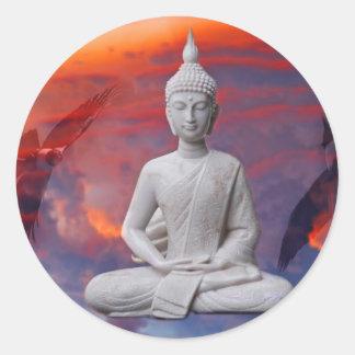 Gautama Siddhartha Buddha Classic Round Sticker