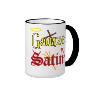 Gauze AND Satin Coffee Mugs