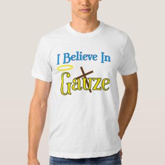 Gauze and Satin Tshirt