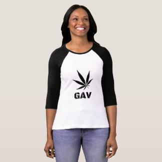 GAV Printed Long-Sleeved T-Shirt by #GrindAndVape