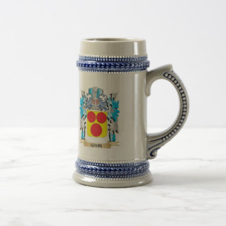 Gavin Coat of Arms - Family Crest Beer Steins