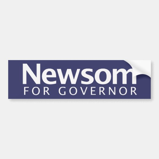 Gavin Newsom for Governor Bumper Sticker