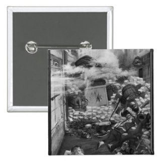 Gavroche Collecting Cartridges 15 Cm Square Badge