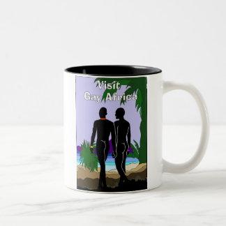 Gay Africa Travel Coffee Mug
