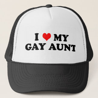 Gay Aunt Trucker Hat