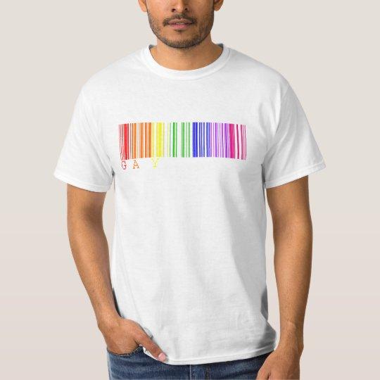 Gay Barcode Shirt
