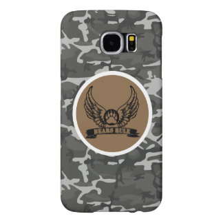Gay Bear Pride Bears Rule Wings Urban Camo Samsung Galaxy S6 Cases