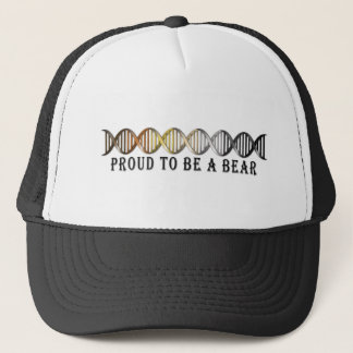 Gay Bear Pride DNA Trucker Hat