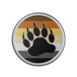 Gay Bear Pride Flag Bear Paw Speaker