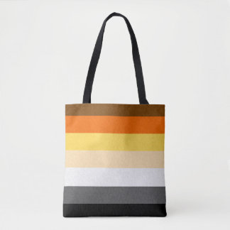 Gay Bear Pride Flag Tote Bag
