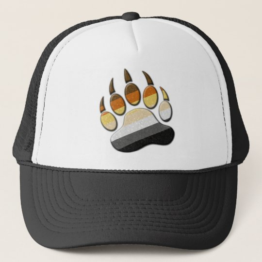 Gay Bear Pride Paw Cap