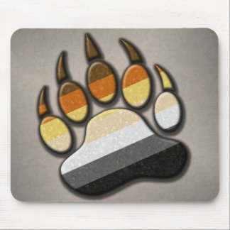 Gay Bear Pride Paw Mouse Mat