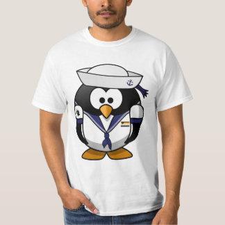 Gay bear Pride Sailor Penguin T-Shirt
