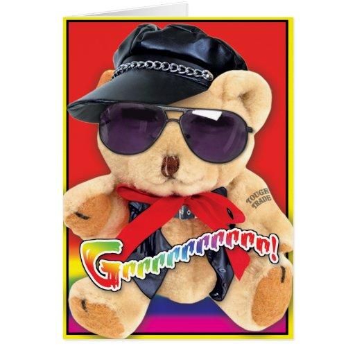 Gay Bears Cards - Miss U_01