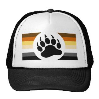 Gay Bears Pride Flag and Bear Paw Cap