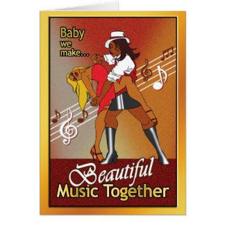 Gay - Beautiful Music Greeting Card
