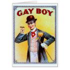 Gay Boy Cigars Card