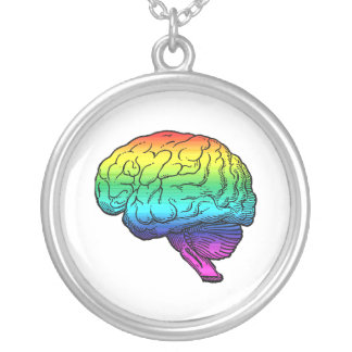 GAY BRAIN PERSONALIZED NECKLACE