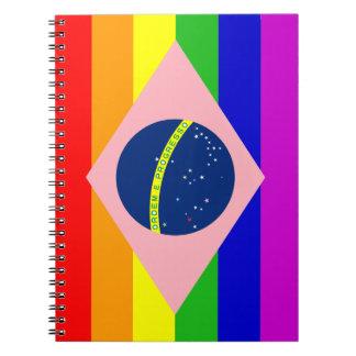 GAY BRAZIL LGBT Photo Notebook